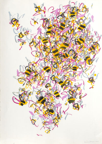 Louisa Chase, 'Bees', 2001