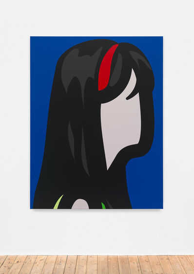 Julian Opie, 'Woman with headband.', 2015
