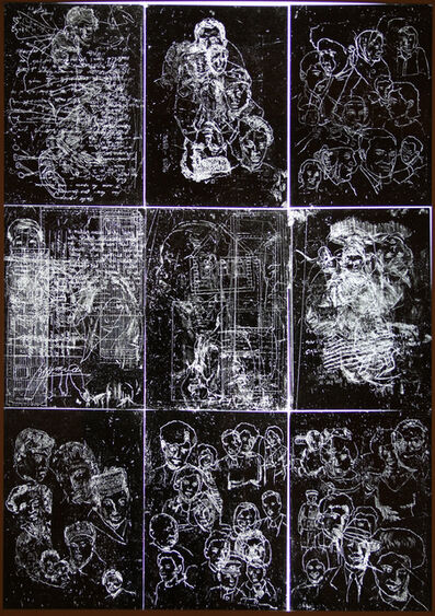 Haim Sokol, 'Palimpsests', 2010