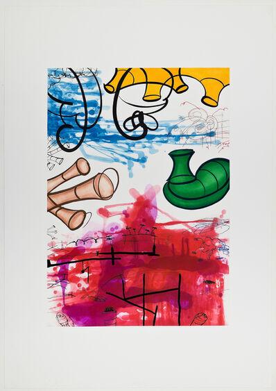 Carroll Dunham, 'Three Etchings (#1)', 1987