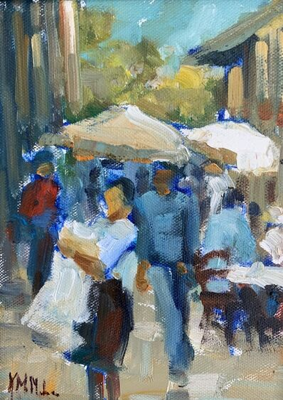 Kathryn McMahon, 'Market Square ', 2019
