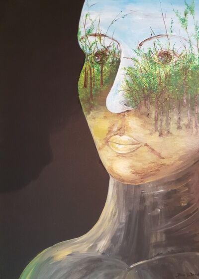 Jana Wendt, 'Der Mensch-Ursache und Macht zur Umweltveränderung', 2017