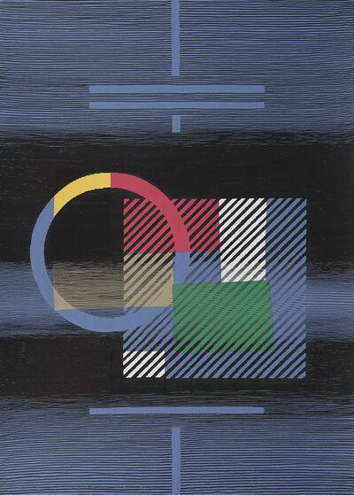Michel Seuphor, 'Le carré visité'