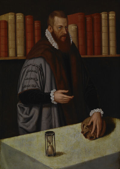Ludger Tom Ring, The Younger, 'Portrait of a Doctor', ca. 1572