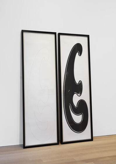 Rita McBride, 'French Curve Diptych', 2006