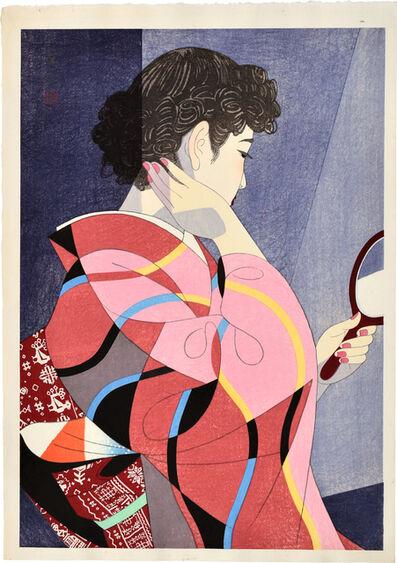 Itō Shinsui, 'Hand Mirror', 1954