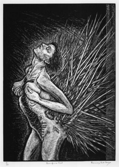 Rosemary Feit Covey, 'Porcupine Girl (Standing)', 2000