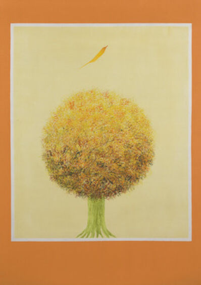 Jagdish Swaminathan, 'Untitled (Bird and Tree)'