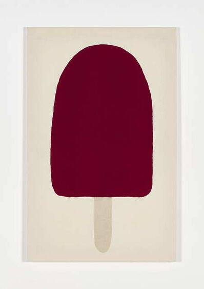 Adelaide Cioni, 'Go easy on me, one dark crimson with white stick', 2020