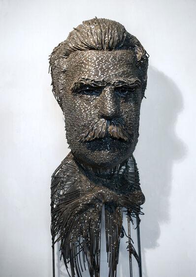 Darius Hulea, 'Frederick Stork, Sculptor', 2017