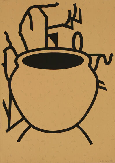 Patrick Caulfield, 'Fern Pot'