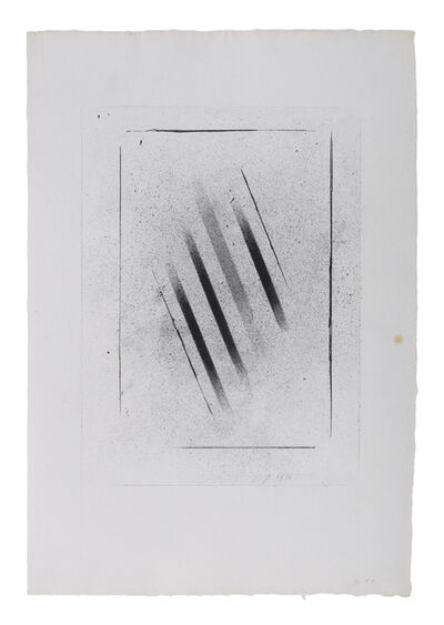 Charles Pollock (1902-1988), 'Charcoal 1', 1970