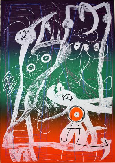 Joan Miró, 'Fashion Frenzy – Blue, Red, Green   Le délire du couturier - bleu, rouge, vert', 1969