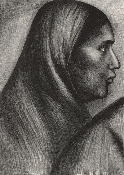 José Clemente Orozco, 'Cabeza de Mujer (Mexican Woman)', 1929