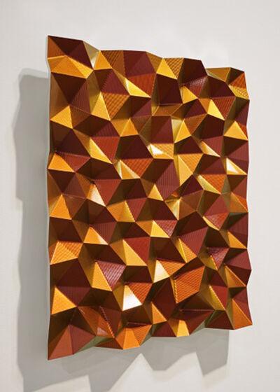 Christian Eckart, 'Hexagonal Perturbation (Gold)', 2011
