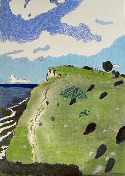 Per Adolfsen, 'Coast with Steep Slopes ', 2020