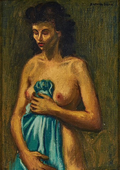 Raphael Soyer, 'Untitled (Nude)'