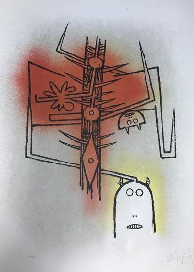 """Wifredo Lam, '""""Le feu vert""""', 1974"""