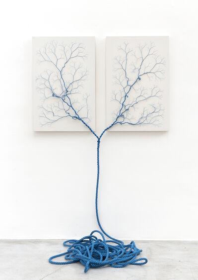 Janaina Mello Landini, 'Ciclotrama 28 (face to face)', 2018