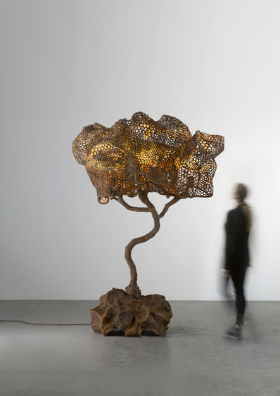 Nacho Carbonell, 'Orange Cortex Tree (151_2019)', 2019