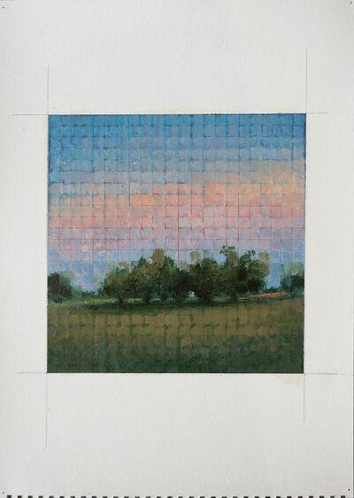 Adam Straus, 'Mosaic: Trees at Sunset', 2015