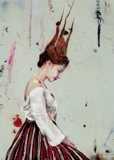 Lita Cabellut, 'Lucia 01', 2017