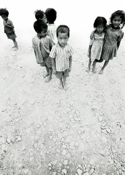 Michel Hosszu, '5 GARCONS ET 2 FILLES NEPAL KATMANDOU ', 1969