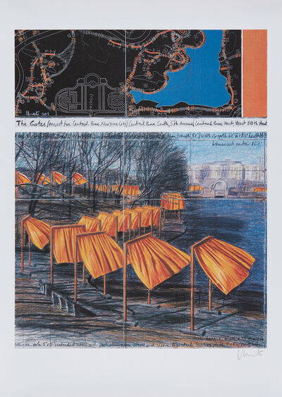 Christo, 'The Gates, Project for Central Park, VIII, New York City', 2003
