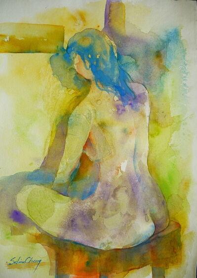 Selina Cheng, 'Sitting Nude', ca. 2015