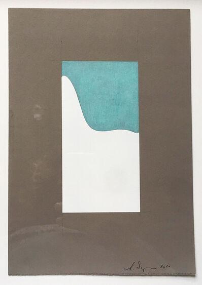 Scott Ingram, 'Tulip Chair (white, lt. blue on gray)', 2010