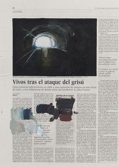 Sandra Gamarra, 'Prueba de color', 2014