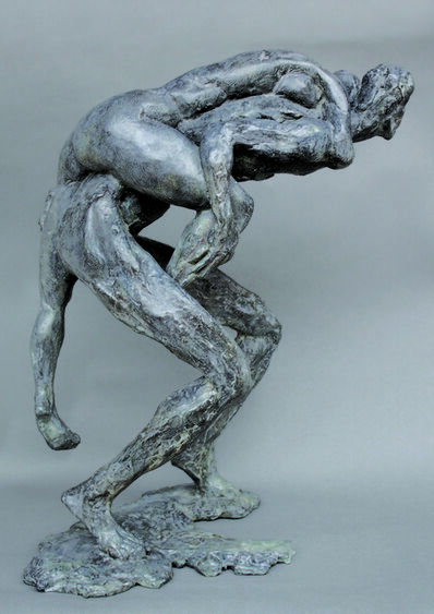 Elisabeth Cibot, 'Walking couple ', 2003