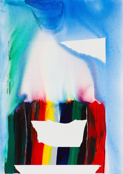 Paul Jenkins, 'Phenomena Prism Mirror', 1984