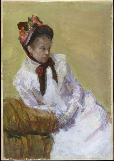 Mary Cassatt, 'Portrait of the Artist', 1878