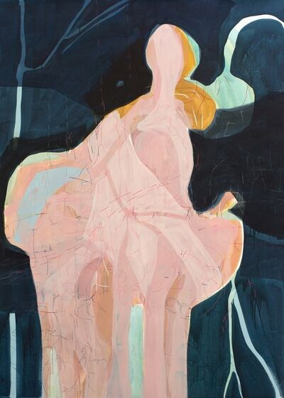 Janaina Tschäpe, 'The Girl and the Swan', 2017
