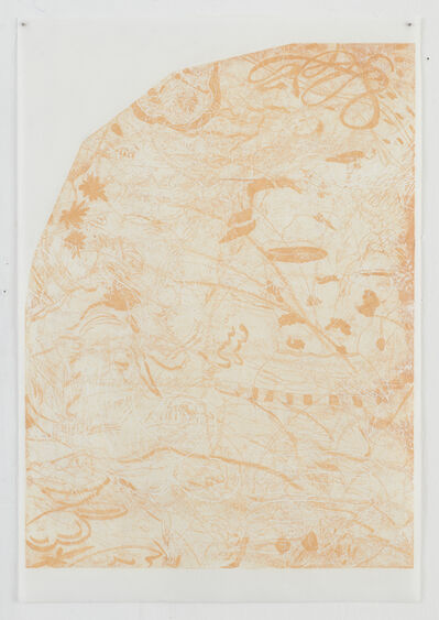 Abraham Kritzman, 'Domed Pressure (Orange) (1)', 2018