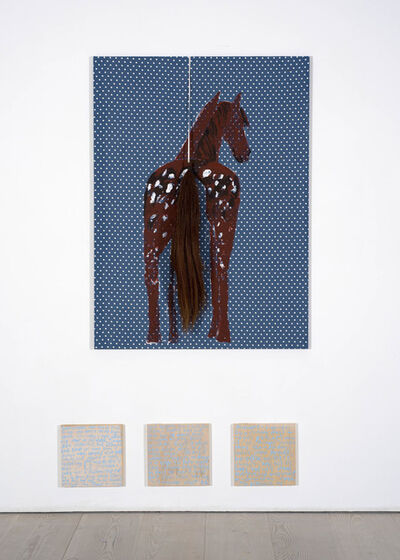 Jenny Watson, 'There's an Appaloosa on the Loose', 2019