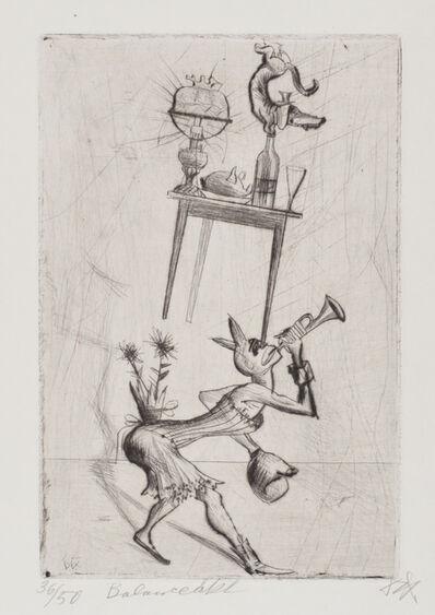 Otto Dix, 'Balancing Act', 1922
