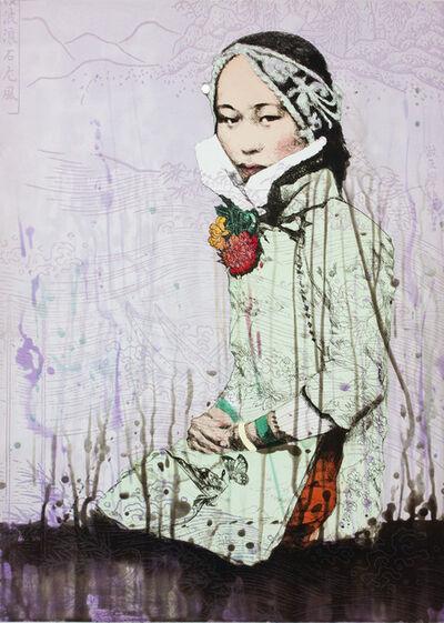 Hung Liu 刘虹, 'Shui - Water', 2012