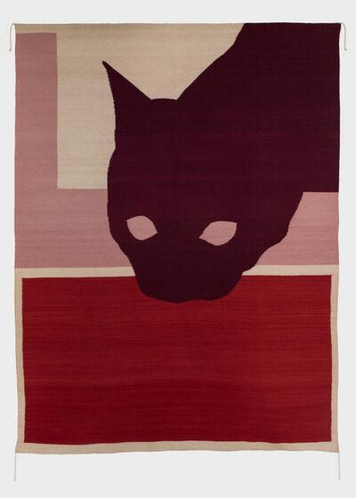 Ulrike Müller, 'Rug (gato de cochinilla)', 2015