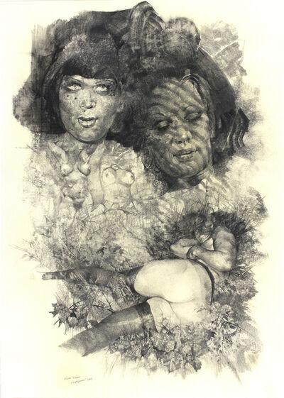 Renzo Vespignani, 'Female figures', 1983