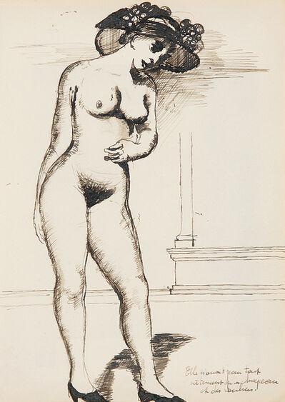 Paul Delvaux, 'Nu aux escarpins', ca. 1935