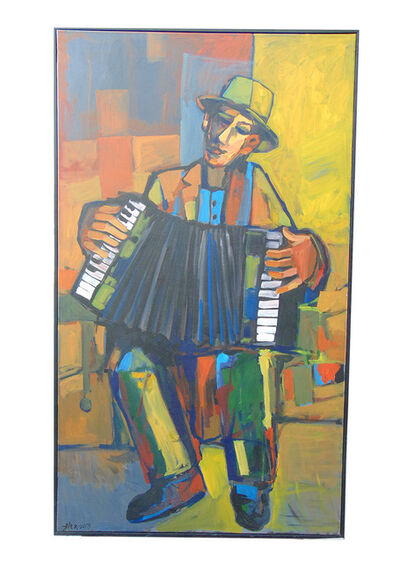 Alex Khattab, 'Accordeonist ', 2019