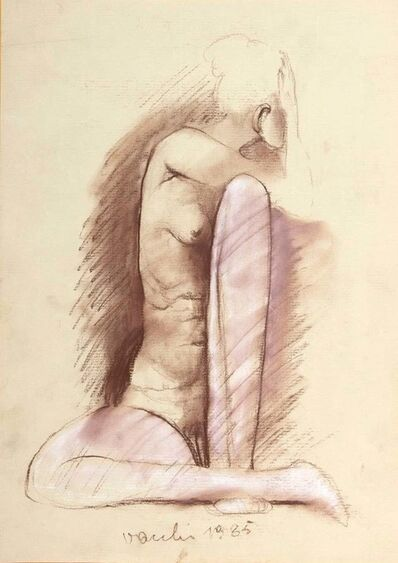 Sergio Vacchi, 'Nude ', 1985