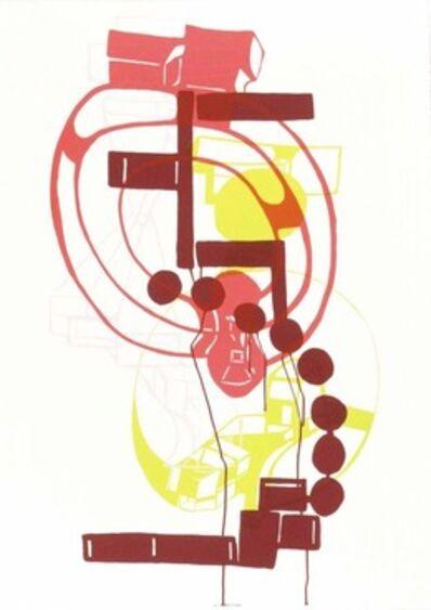Joanne Greenbaum, 'Untitled Outtakes: #9', 2002