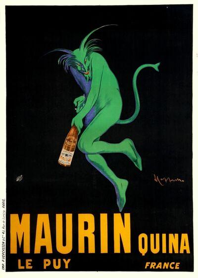 Leonetto Cappiello, 'Maurin Quina', 1906