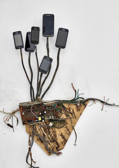 Kristof Kintera, 'Postnaturalia - Telefonica', 2018