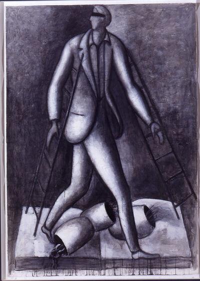 Roberto Barni, 'Occhio allo scalino', 1993