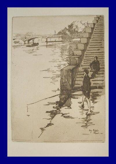 Eugène Bejot, 'L'escalier', 1900