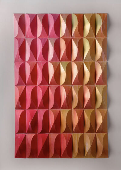Matt Shlian, 'Foreign Ministry 11 (Pink and Gold)', 2019